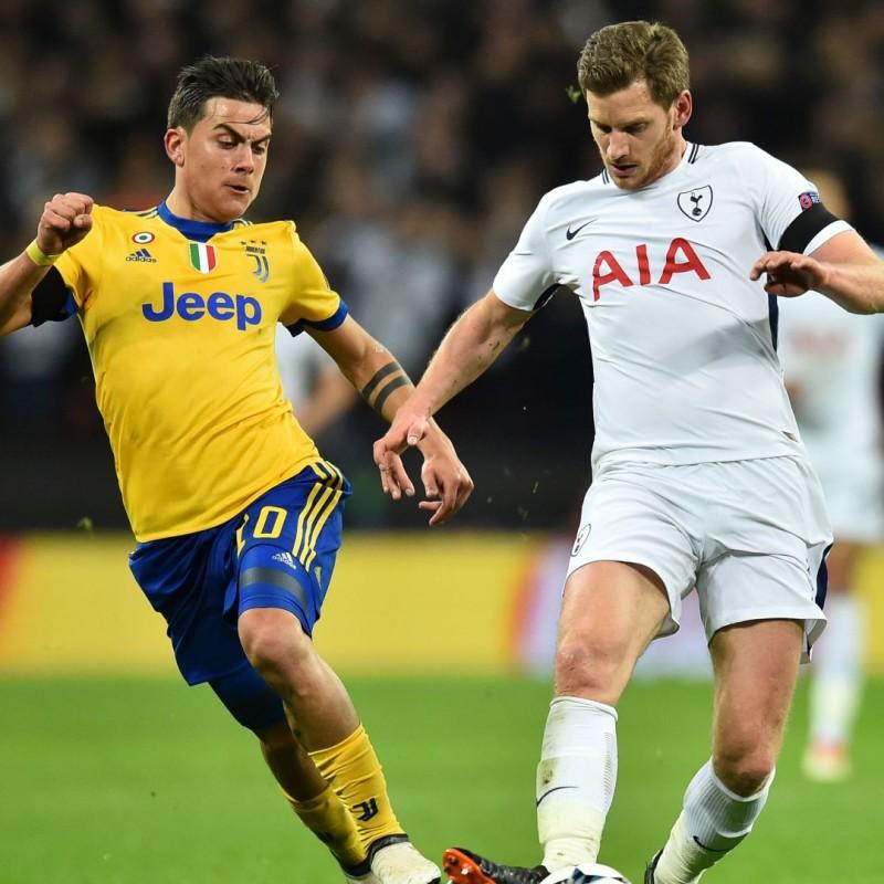 Vertonghen's Match-Worn 2018 Tottenham-Juventus Shirt