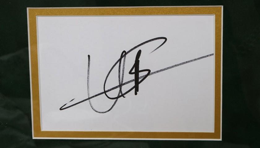 Rare Usain Bolt Signed & Framed Photograph