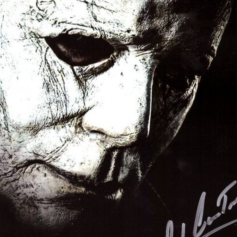"James Jude Courtney ""Michael Myers"" Signed Halloween Photo"
