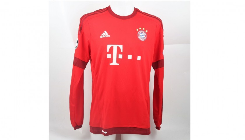 online retailer dca88 63993 Muller's Bayern Munich Shirt, Issued/Worn CL 2015/16 - CharityStars