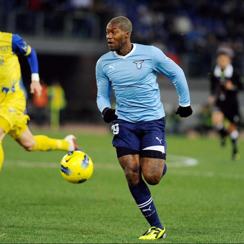 Official Lazio Track Jacket Signed by Cissé