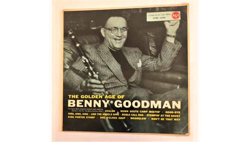 "LP ""The Golden Age Of"" by Benny Goodman, 1955"