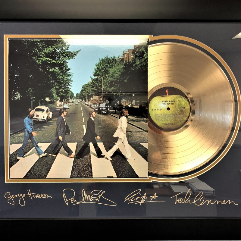 The Beatles, Abbey Road Gold-Plated Record