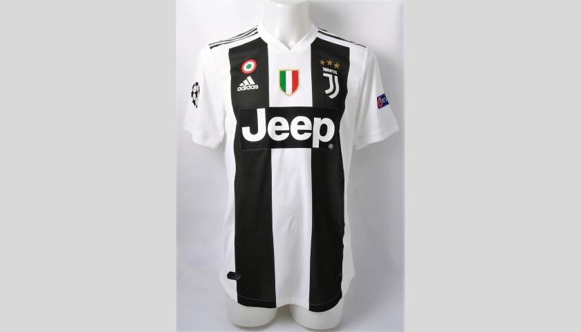 newest 7fe8a fa075 Ronaldo's Authentic Juventus 2018/19 Signed Shirt - CharityStars