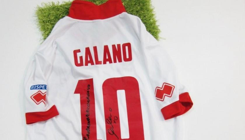 Maglia Galano Bari, preparata/indossata Serie B 2014/2015 ...