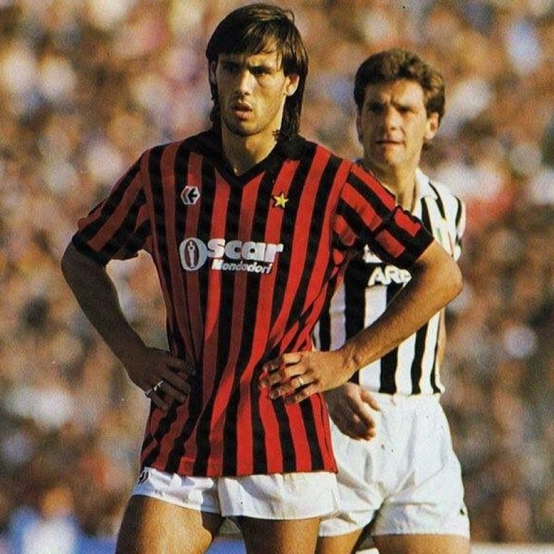 Milan Shirt Season 1984/85 - Worn by Hateley