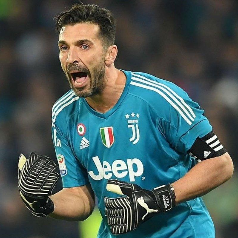 Buffon's Match-Issue Signed Captain's Armband, 2017/18 Season