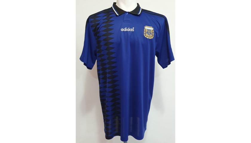 Maradona's Official Argentina Signed Shirt, 1994