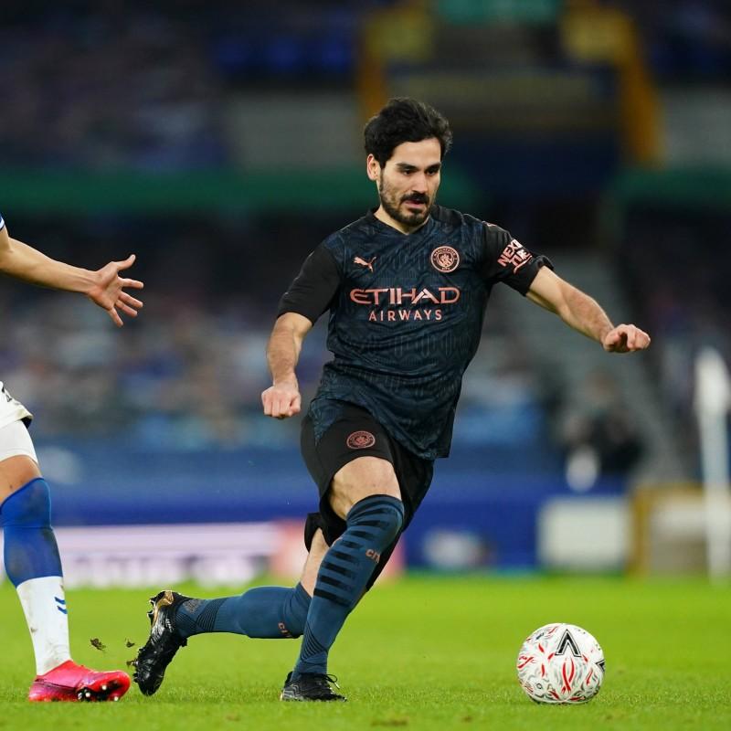Gundogan's Manchester City FA Cup Away Signed Shirt