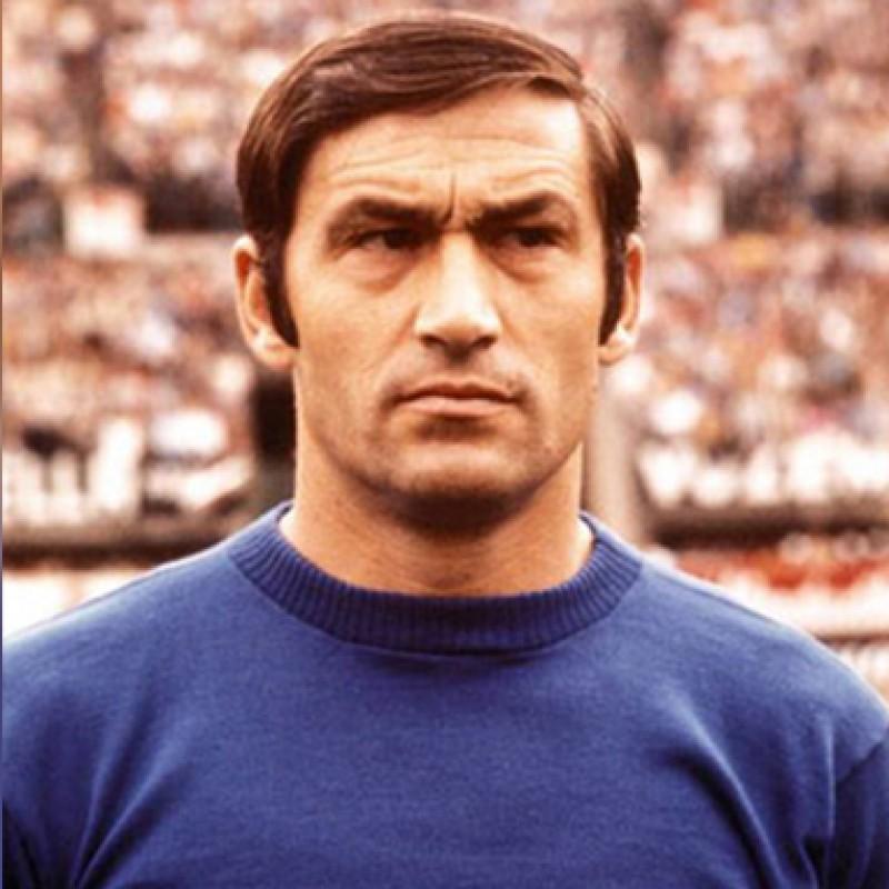 Burgnich's Match-Issued/Worn Italia Shirt, 1970