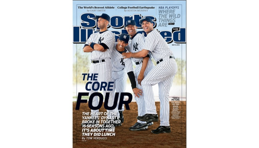 New York Yankees Core Four Replica Ring Set