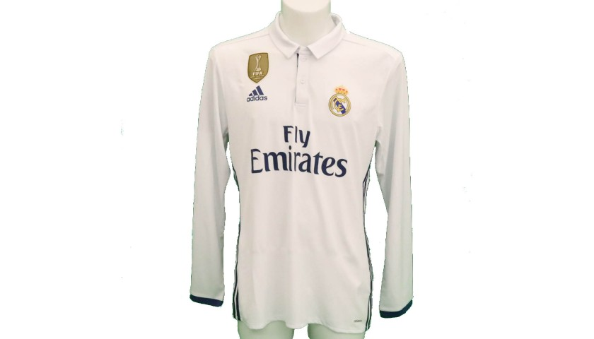 sports shoes 7f001 25622 Ronaldo's Real Madrid Match-Issue/Worn Shirt, 2016/17 - CharityStars