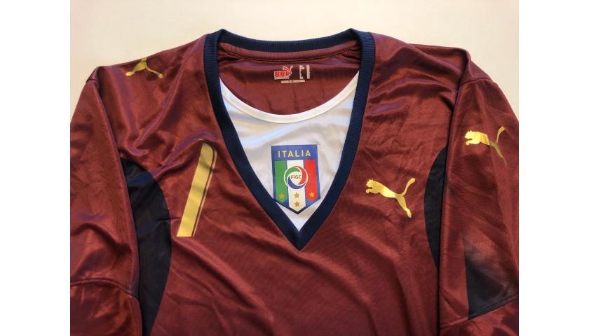 Buffon's Italy Match Shirt, 2006/07 Season
