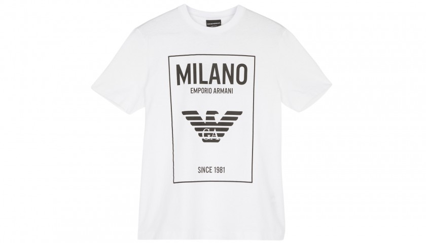 Staff T-Shirt from the 2018 Armani Fashion Show in Milan