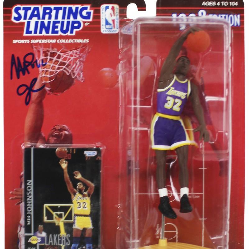 Magic Johnson Signed 1988 Starting Line Up Figure