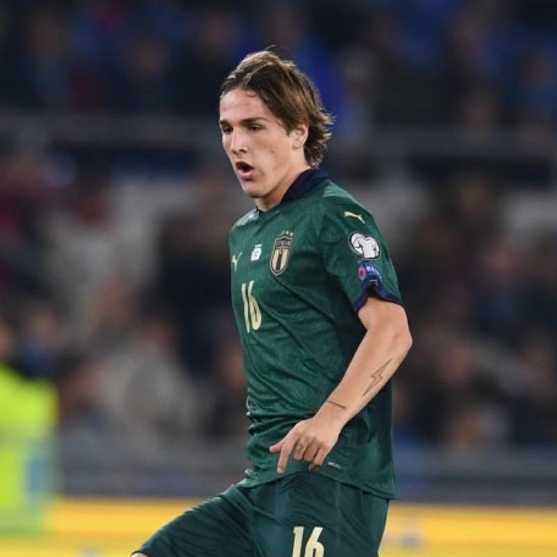Zaniolo's Match Shirt, Italy-Greece 2019