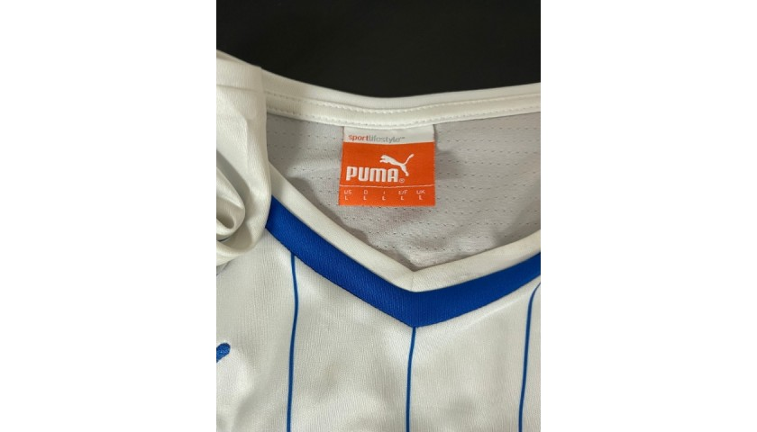 Chiellini's Official Italy Signed Shirt, 2014