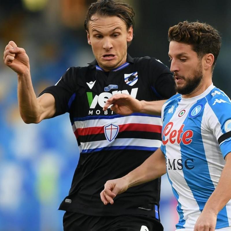 Ekdal's Worn Shirt, Napoli-Sampdoria 2020, Special Maradona