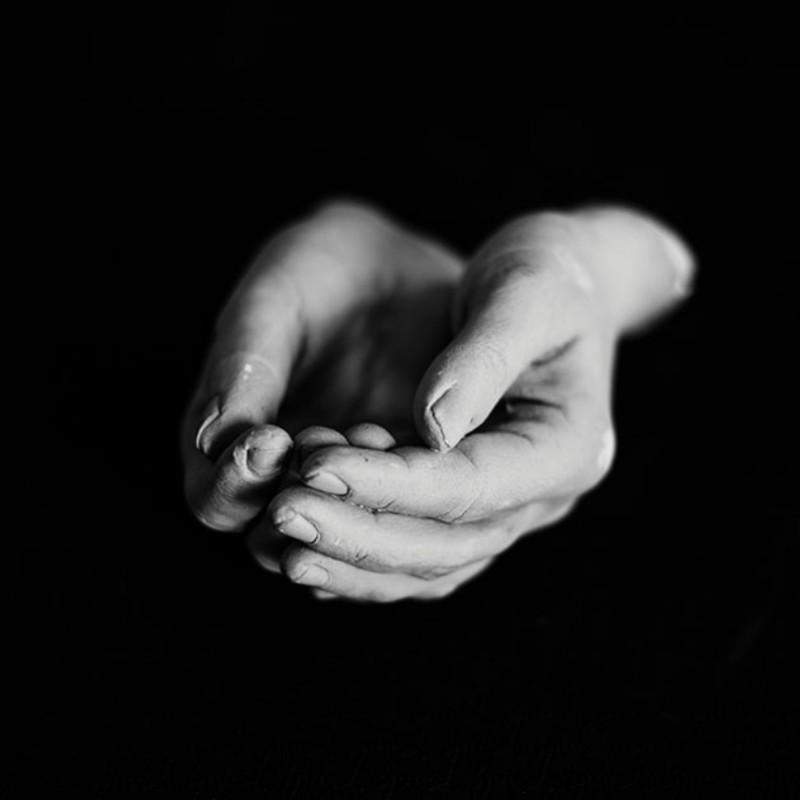 """Nelle mie mani"" Series - Photograph by Crisitina Le Noci"