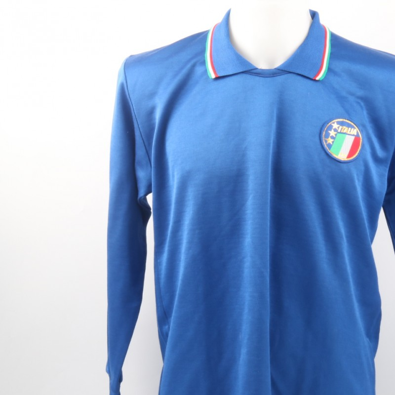 Baresi Match Worn Shirt, Italy-Hungary 1/5/1991