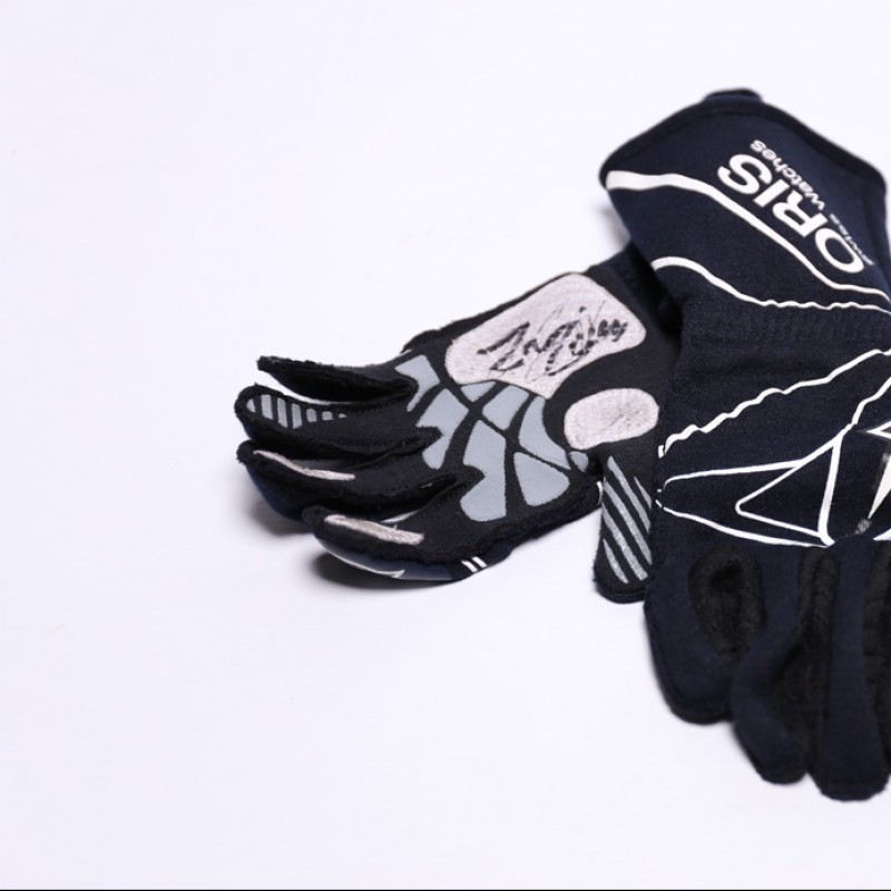Signed gloves Used by Felipe Massa in 2016 Abu Dhabi GP