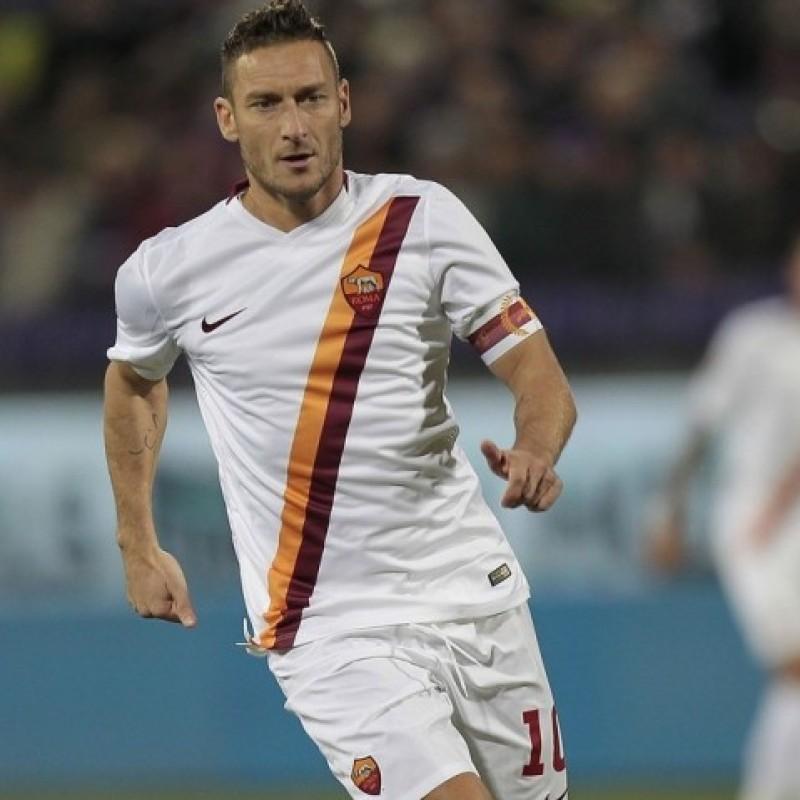 Maglia Ufficiale Totti Roma, 2014/2015 - Autografata