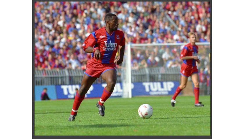 Play Left Midfield Alongside Crystal Palace F.C Legends Andy Johnson and Andy Gray