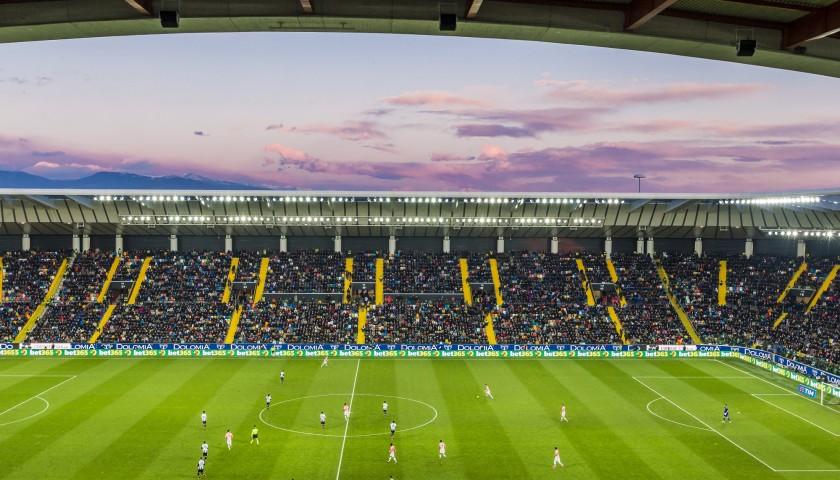 Scendi In Campo Come Mascot In Occasione Di Udinese Benevento Charitystars