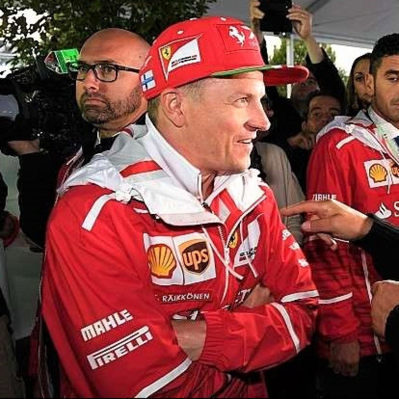 Kimi Raikkonen Official Ferrari Personalized Jacket