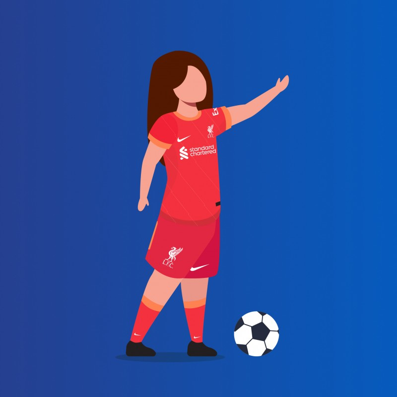 Mascot Package for LFC Women vs Aston Villa Women (Physical Package)