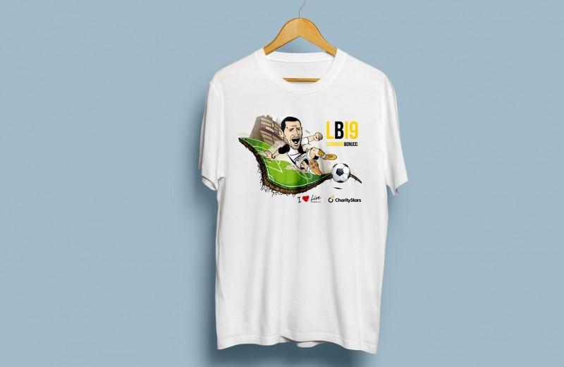 White LB19 T-Shirt - Kid