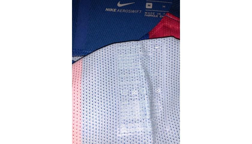 Iniesta's Match Shirt, Barcelona-Celtic 2016