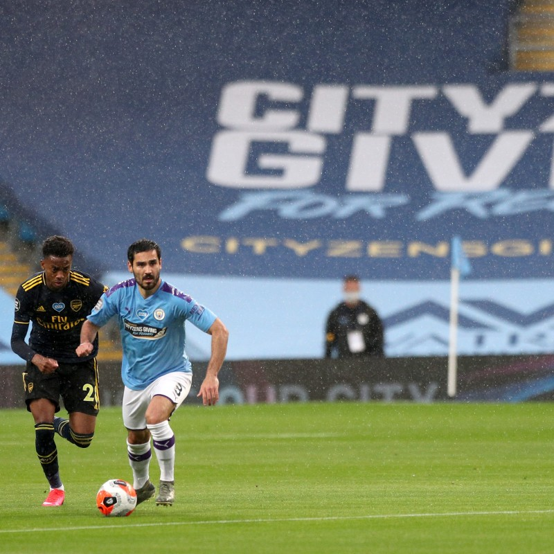 Cityzens Giving for Recovery Match Issued Shirt Signed by Ilkay Gündogan