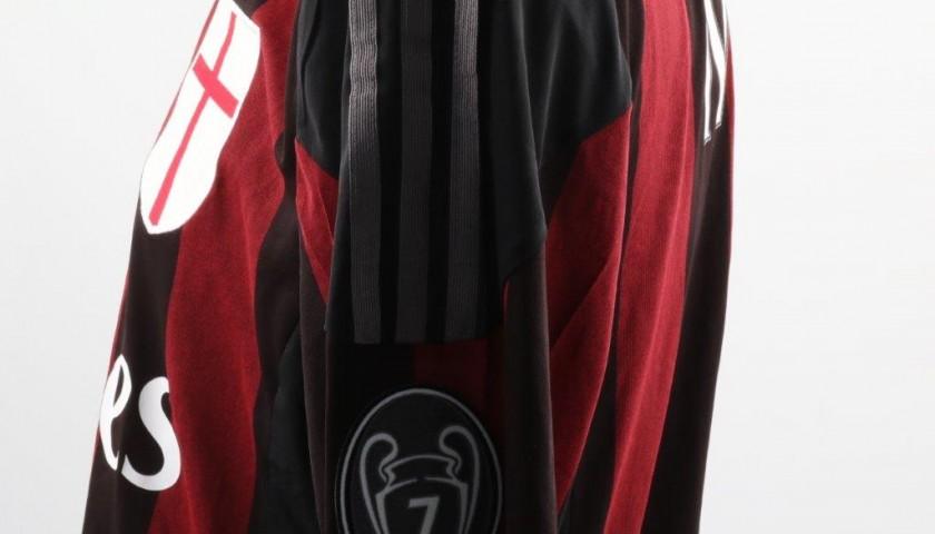 Match worn Menez shirt, Milan-Alessandria Tim Cup 21/03/2016