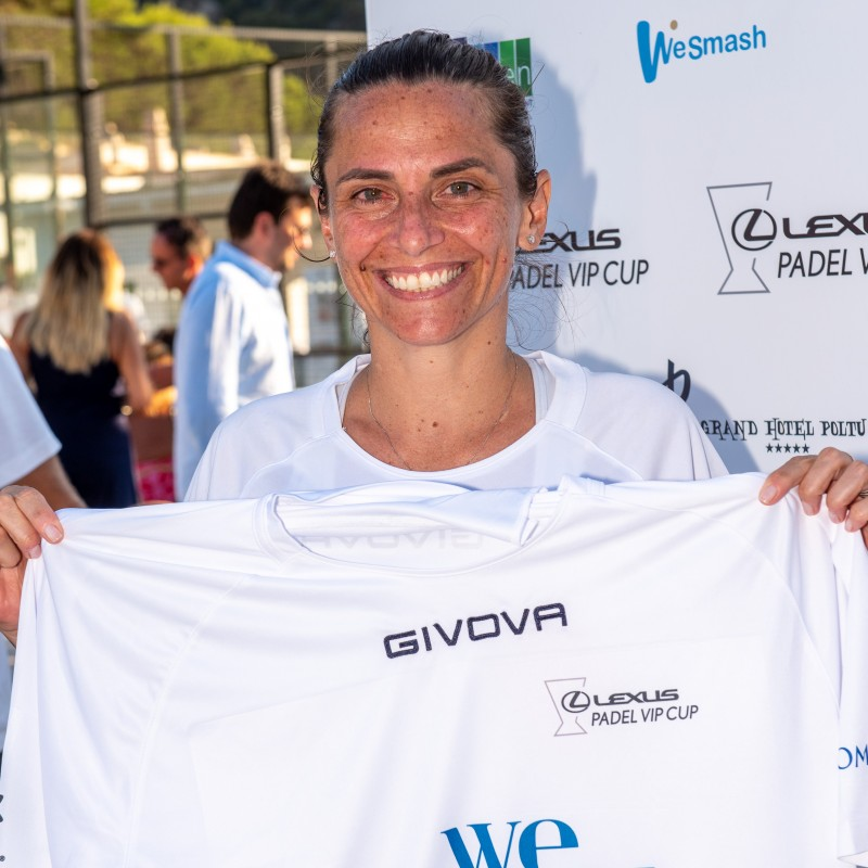 Vinci's Lexus Padel Vip Cup Worn and Signed Shirts