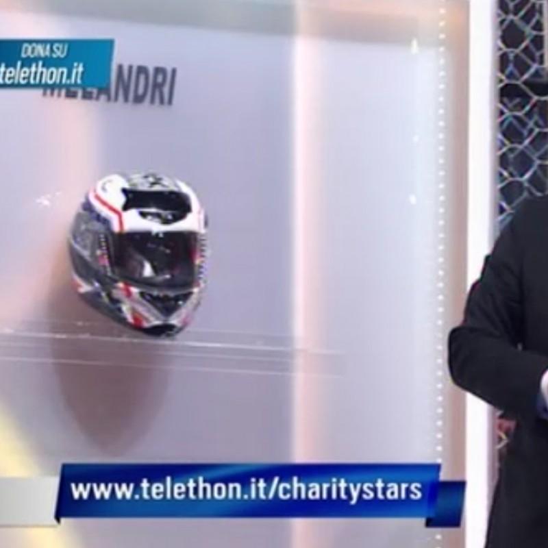 Marco Melandri helmet SBK signed