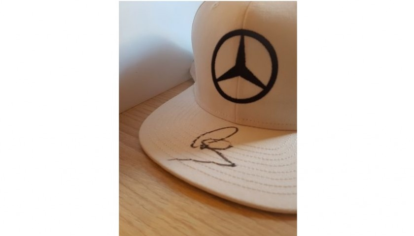 Special Edition Cap Signed by Lewis Hamilton