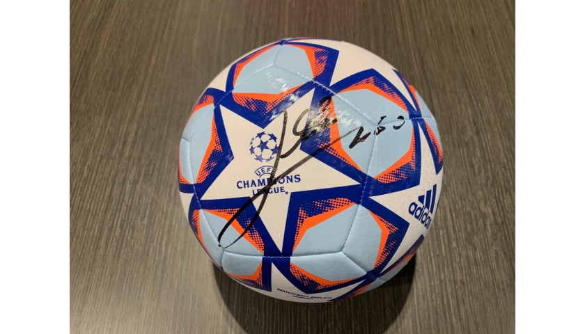 Official UCL 2020/21 Football - Signed by Messi