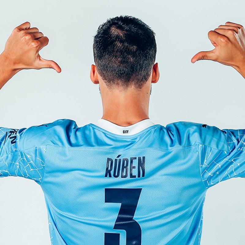 Rúben Dias Manchester City Signed Shirt