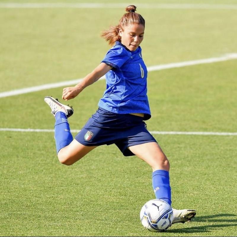 Giugliano's Italy Match Signed Shirt, 2021