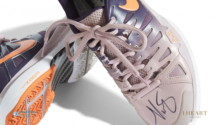 Maria Sharapova Signed Shoes