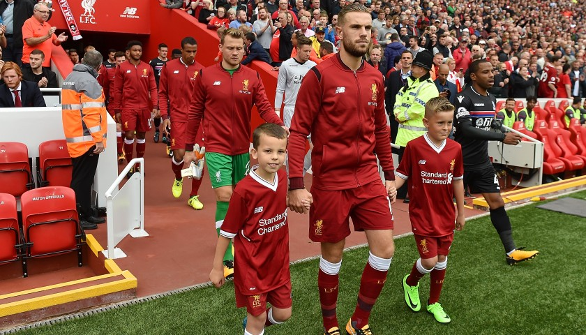 Mascot Package for Liverpool FC vs Manchester United FC