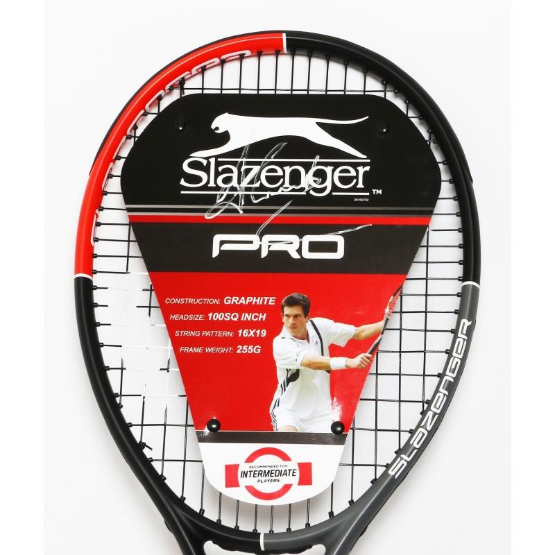 Slazenger Pro Tennis Racket Signed by Tim Henman