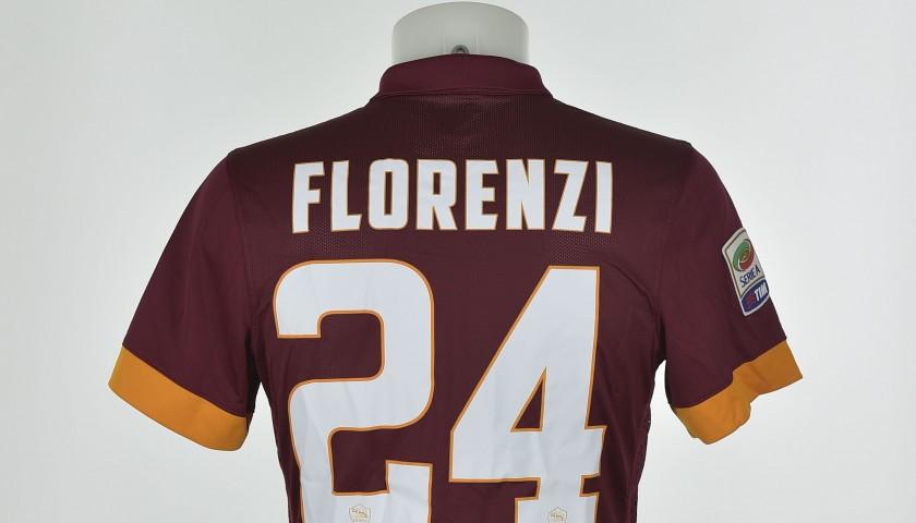 Florenzi matchworn shirt, chinese new years edition