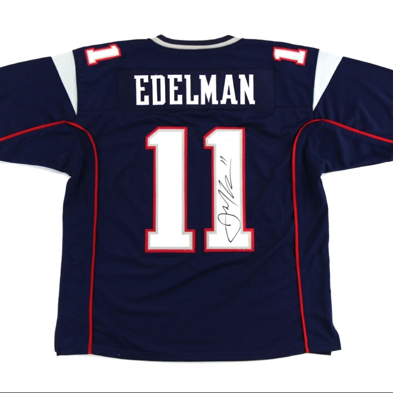 Julian Edelman New England Patriots Hand Signed Jersey