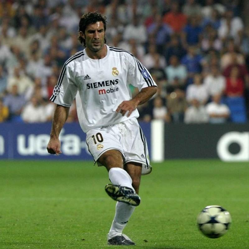 Figo's Official Real Madrid Signed Shirt, 2003/04