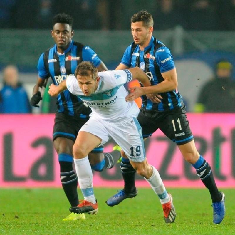 Lulic's Worn Shirt, Atalanta-Lazio 2018 - UNWASHED
