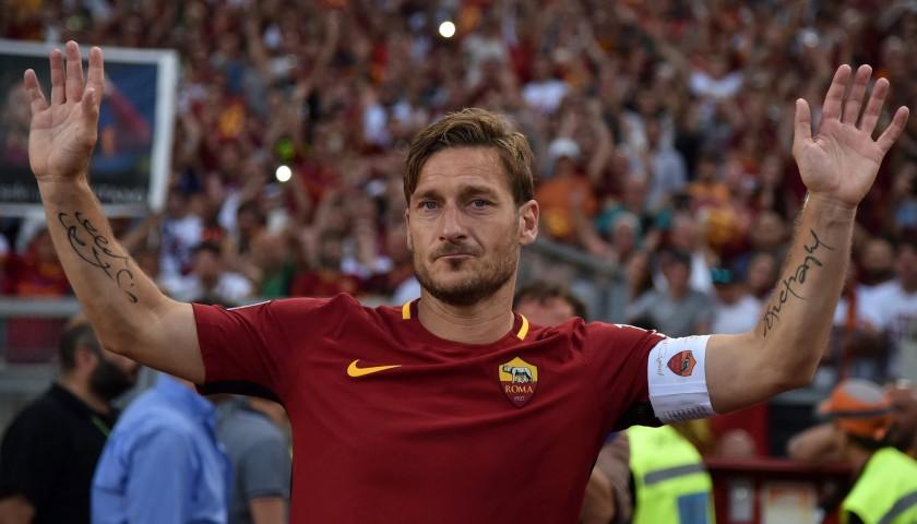 Totti's Roma Captain's Armband, Limited Edition 2016/17
