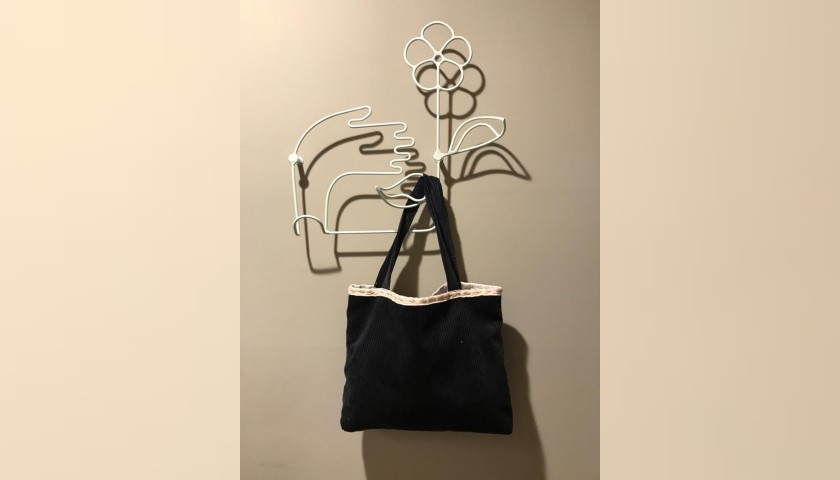 Laura Zagari Handmade Blue Bag