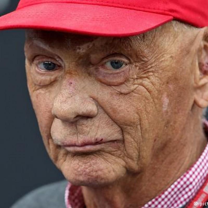 Signed Niki Lauda Cap - Ferrari, Formula 1